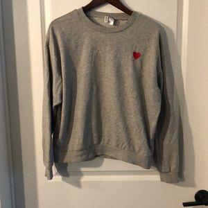 H&M Love Sweatshirt